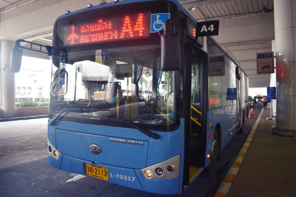 ドンムアン空港バスの画像