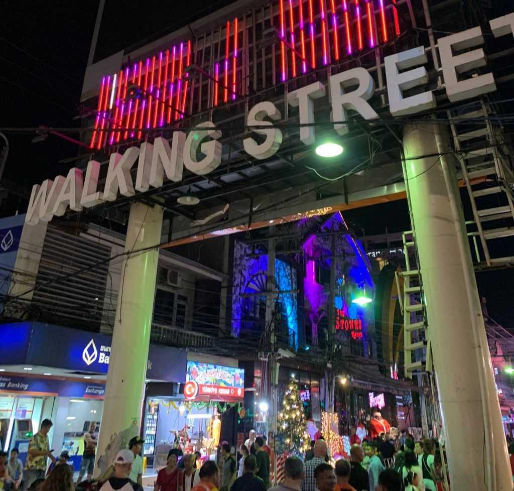 ウォーキングストリートの画像