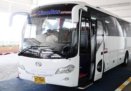 ドンムアン空港LIMOバスの画像