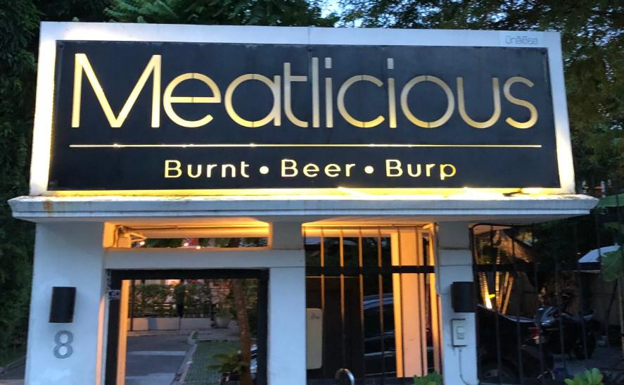 Meatliciousの入り口の画像