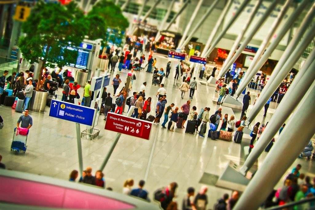 空港の画像
