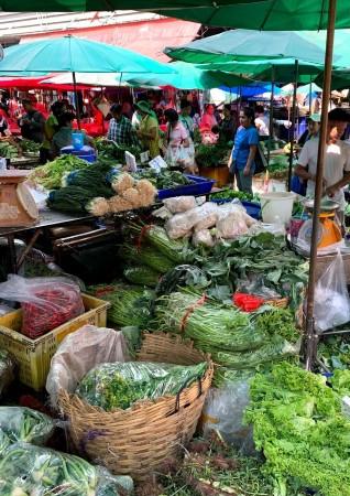 クロントゥーイ市場の画像