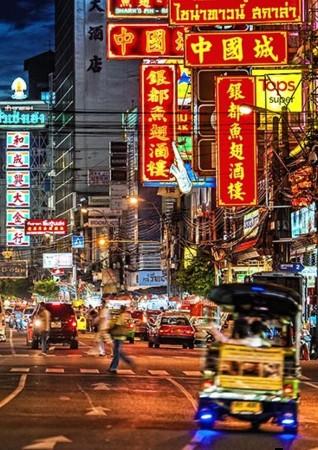 バンコクのチャイナタウン画像