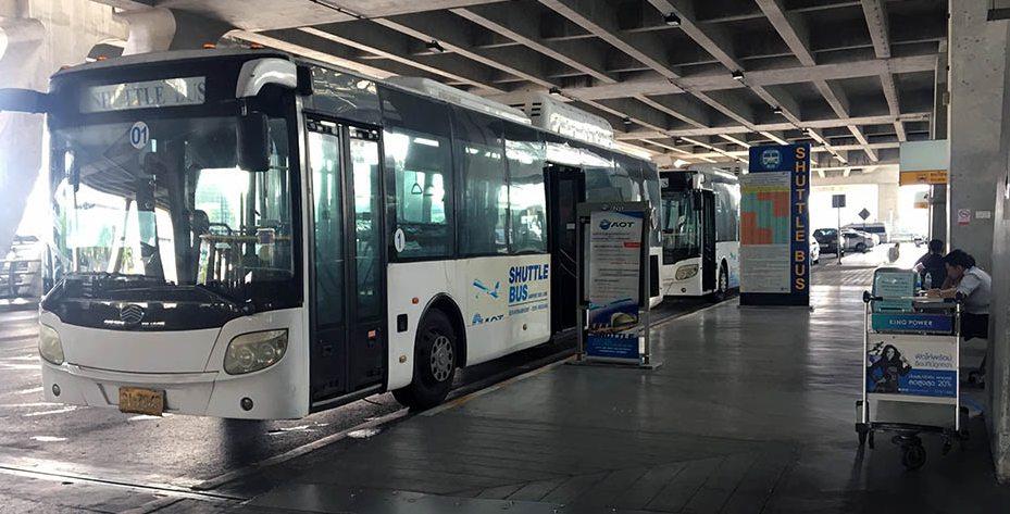 シャトルバスの画像