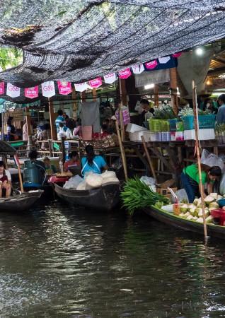 クローンラットマヨム水上マーケットの画像
