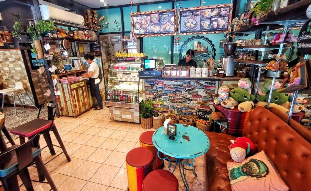 Jasmin's Cafeレジ