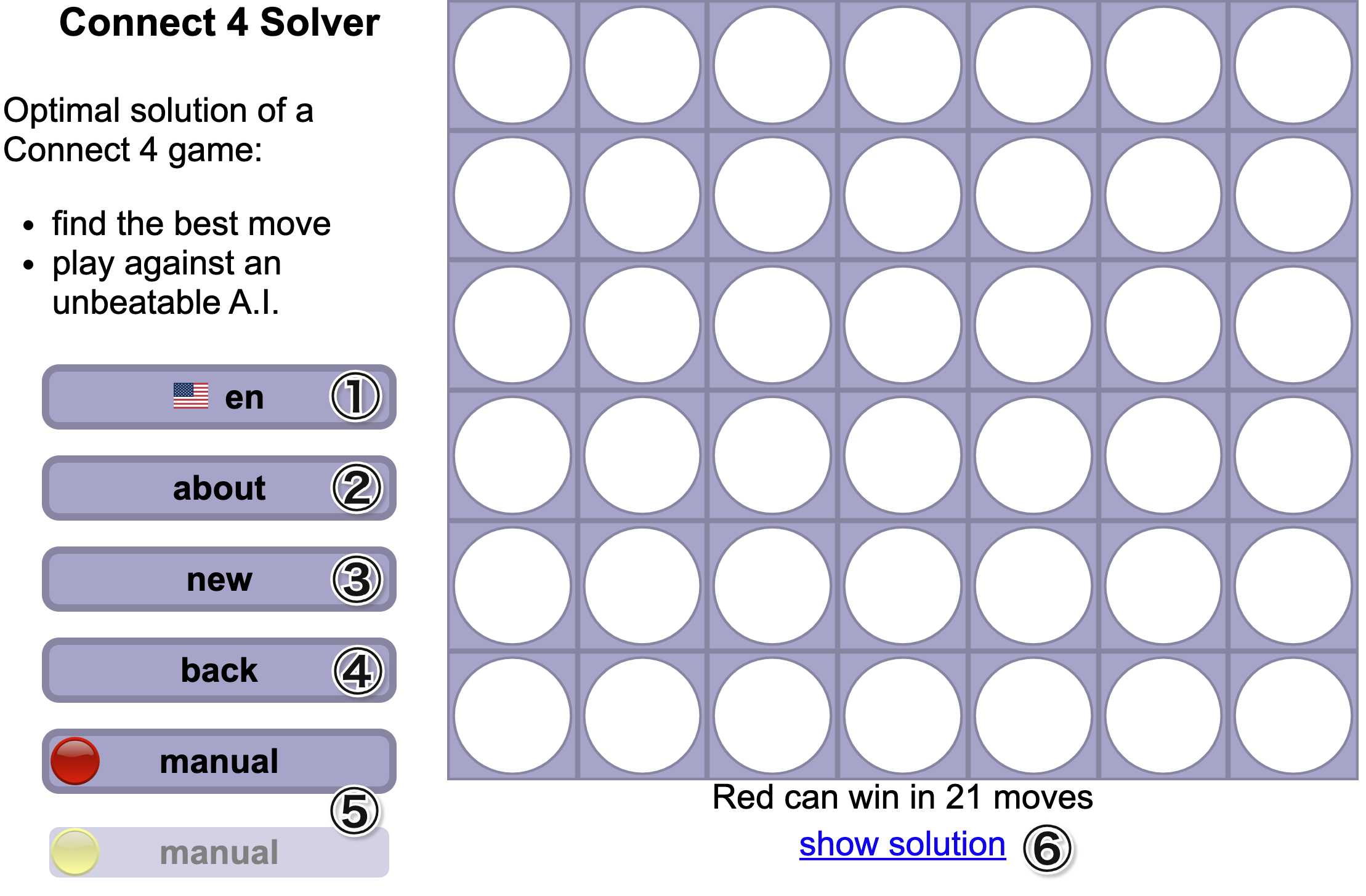 connect4-Solver